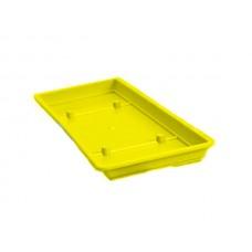 Πλαστικά Πιάτα Ζαρντινιέρας Mojito Κίτρινα 45cmX15cm          |kipogeorgiki.gr