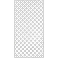 Πλαστικά Καφασωτά Classic Λευκό 100x200cm | kipogeorgiki.gr
