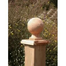 Διακοσμητικό Κολώνας Μπάλα με Λαιμό Νο 7   |kipogeorgiki.gr