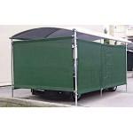 Πανί Σκίασης Αναπνέον HDPE 280gr/m2 2x25m Πράσινο | kipogeorgiki.gr
