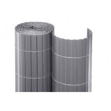 Καλαμωτές Πλαστικές 20mm/100(Υ)x500cm Γκρι Χρώμα Διπλής Όψης | Κηπογεωργική