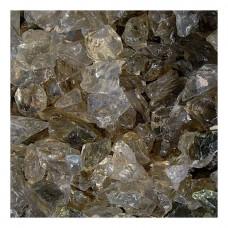 Γυάλινες Πέτρες Διάφανες 1kg (8-15cm) Διακοσμητικές