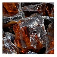 Γυάλινες Πέτρες Κεχριμπάρι 1kg (10-20cm) Διακοσμητικές