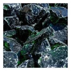 Γυάλινες Πέτρες Πράσινο 1kg Διακοσμητικές