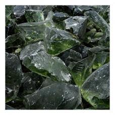 Γυάλινες Πέτρες Πράσινο Ανοιχτό 1kg Διακοσμητικές