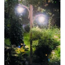 Φωτιστικά Δαπέδου Διπλή Μπάλα Lux 2x0,90m  |kipogeorgiki.gr