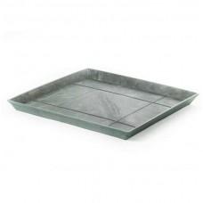 Τετράγωνο Πιάτο για Γλάστρες Ecopots 28x28x3εκ.