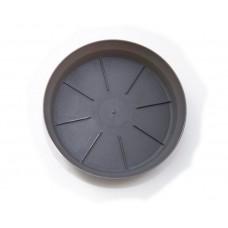 Πιάτο Γλάστρας Micplast Ανθρακί 4,1cm (Υ) x 23,3cm Ø         |kipogeorgiki.gr