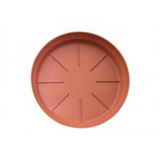 Πιάτο Γλάστρας Micplast Τερακότα  5,1cm (Υ) x 30,6cm Ø           |kipogeorgiki.gr