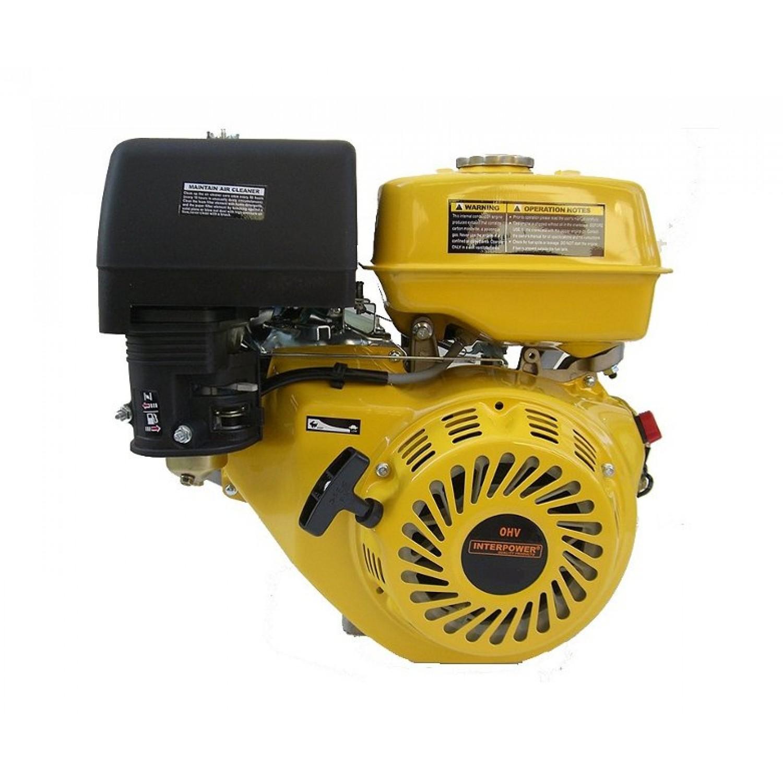 Βενζινοκινητήρας OHV Interpower 5,5 hp 168FA P Βόλτα - 3000 rpm | kipogeorgiki.gr