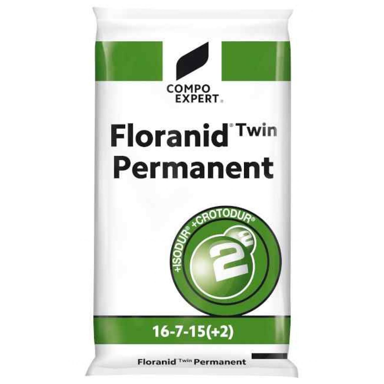 Floranid Twin Permanent 16-7-15+2+TE Λίπασμα 25kg Γενικής Χρήσης Compo | Κηπογεωργική