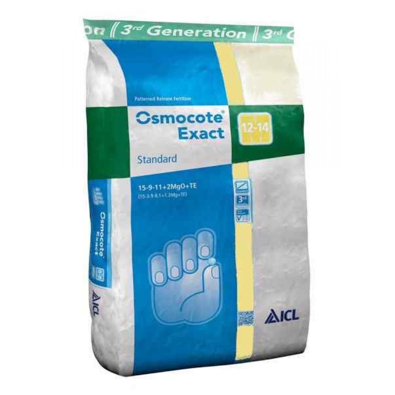 Osmocote Exact Standard 15-9-12+2Mg 12/14 25kg | Κηπογεωργική