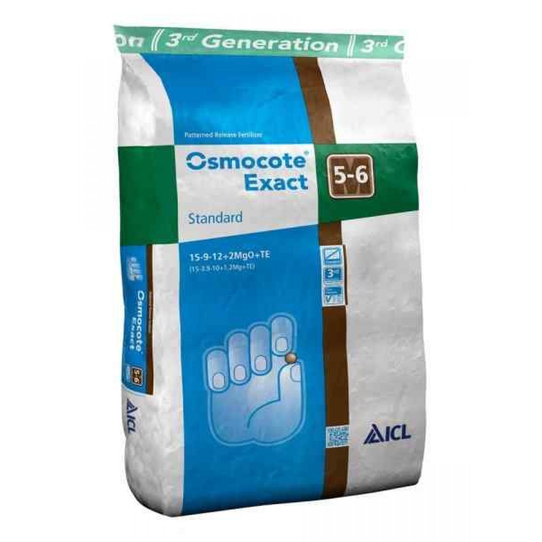 Osmocote Exact Standard 15-9-12+2Mg 5/6 25kg | Κηπογεωργική