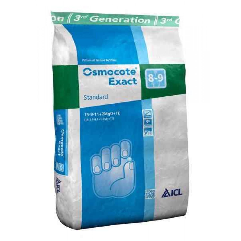 Osmocote Exact Standard 15-9-12+2Mg 8/9 25kg   Κηπογεωργική