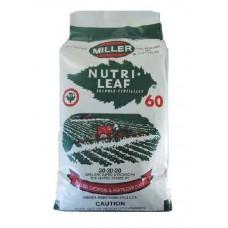 Λίπασμα Nutrileaf Miller 20-20-20 11,34kg | Κηπογεωργική