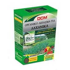 Σύνθετο Οργανικό Λίπασμα για Λαχανικά DCM (6-3-12 + 2 MgO) 1,5 kg   |kipogeorgiki.gr