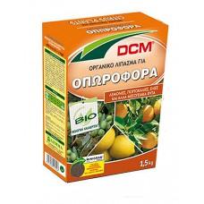 Σύνθετο Οργανικό Λίπασμα για Οπωροφόρα DCM (6-4-12+ 2 MgO) 1,5 kg  |kipogeorgiki.gr