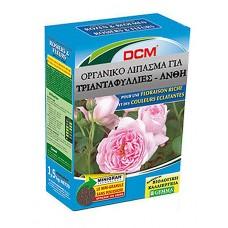 Σύνθετο Οργανικό Λίπασμα για Τριανταφυλλιές-Άνθη DCM (6-4-10 + 2 MgO) 1,5 kg |kipogeorgiki.gr