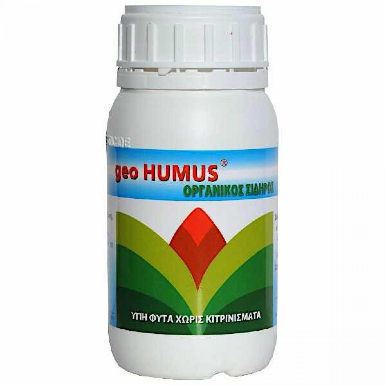 Υγρός Οργανικός Σίδηρος Geo Humus 200ml | Οργανικά Λιπάσματα