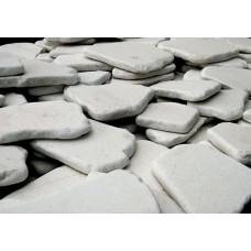 Λευκό Αντικέ Πλακέ Δάπεδο |kipogeorgiki.gr