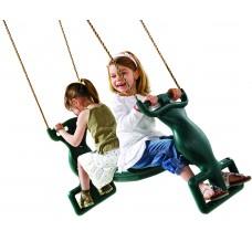 Παιδικό Διπλό Κάθισμα-Κούνια | kipogeorgiki.gr