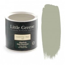 Ματ Πλαστικά Χρώματα της Little Greene - French Grey Dark 1lt | Κηπογεωργική