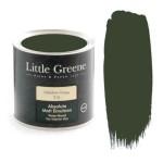 Ματ Πλαστικά Χρώματα της Little Greene - Mid Bronze Green 1lt | Κηπογεωργική