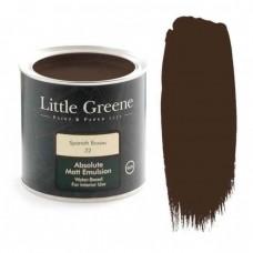 Ματ Πλαστικά Χρώματα της Little Greene - Spanish Brown 2,5lt | Κηπογεωργική