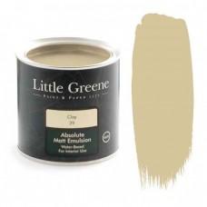 Ματ Πλαστικά Χρώματα της Little Greene - Clay 1lt | Κηπογεωργική
