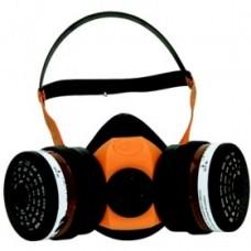 Μάσκα ημίσεως προσώπου δύο φίλτρων Προστασία Aναπνοής