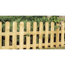 Ξύλινοι Φράχτες λεία τάβλα εμποτισμένης ξυλείας 80(Υ) x 180cm |kipogeorgiki.gr