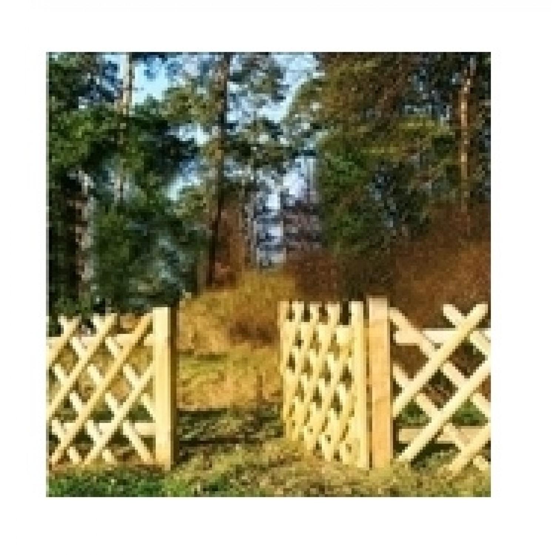 Πόρτα Φράχτη Ανοιγόμενου 80(Y) x 100cm  kipogeorgiki.gr