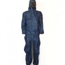 Φόρμα εργασίας μιας χρήσης μπλε Φόρμες προστασίας έναντι χημικών