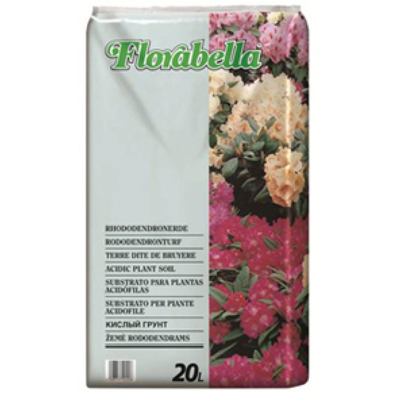 Φυτόχωμα για οξύφυλλα Florabella Rhododendronerde 20 Lt  |kipogeorgiki.gr