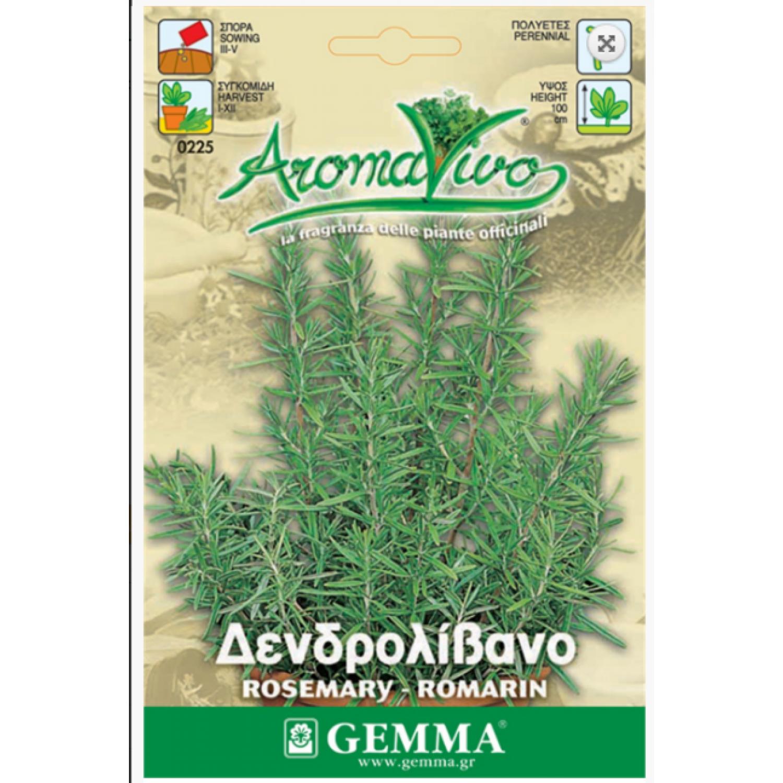 Δεντρολίβανο σπόροι|kipogeorgiki.gr
